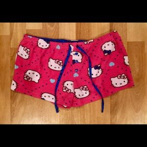 Hello kitty pj shorts